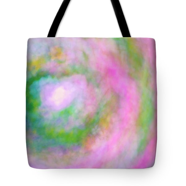Tote Bag featuring the photograph Impression Series - Floral Galaxies by Ranjay Mitra