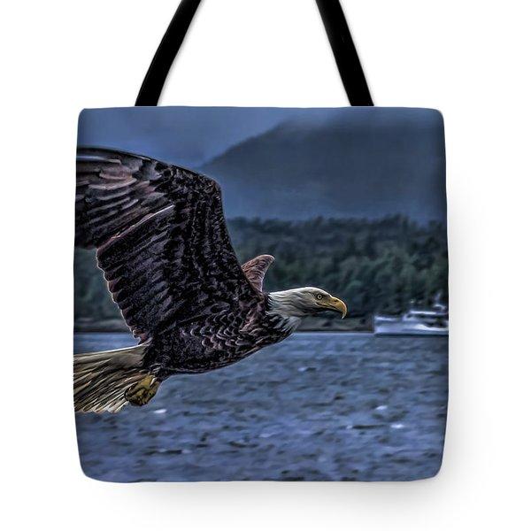 In Flight. Tote Bag by Timothy Latta