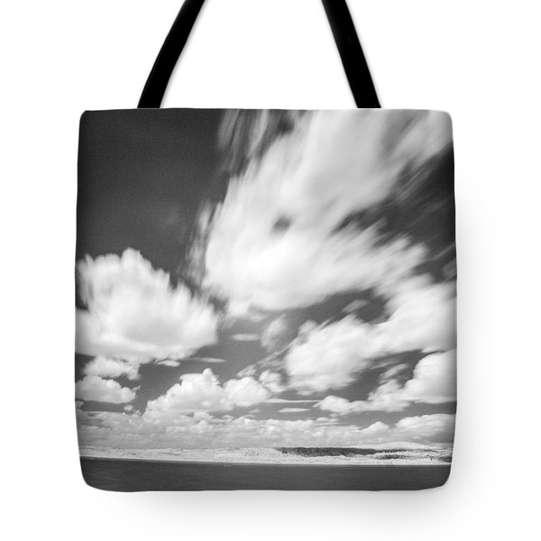 Infrared Landscape Tote Bag