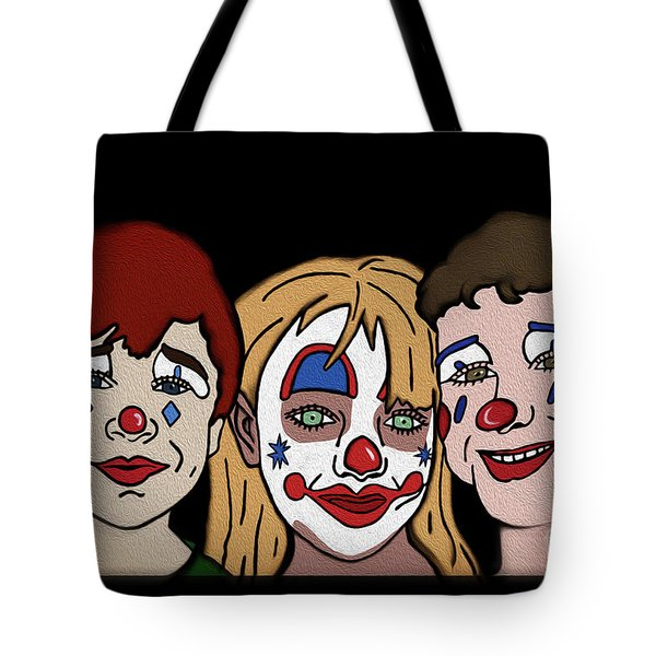3 Jesters Tote Bag