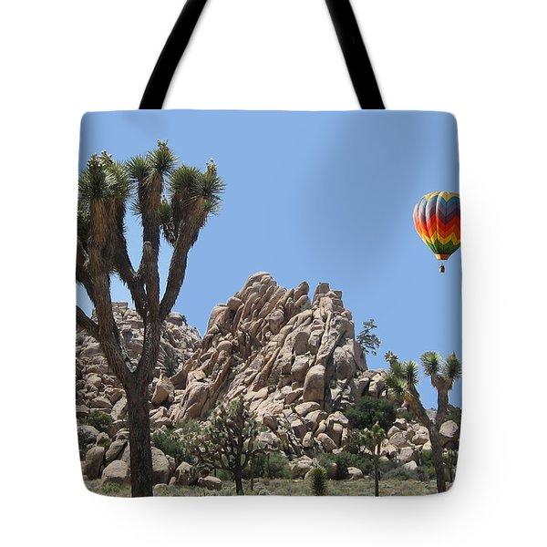 Joshua Landing Tote Bag