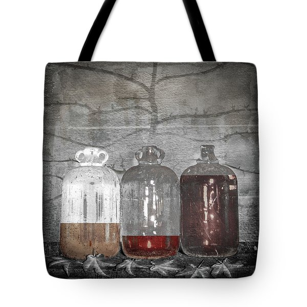 3 Jugs Tote Bag by Marty Garland