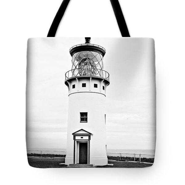 Kilauea Lighthouse Tote Bag by Scott Pellegrin