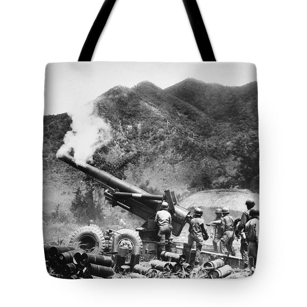 Korean War: Artillery Tote Bag by Granger