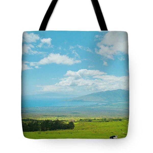 Kula Maui Hawaii Tote Bag by Sharon Mau