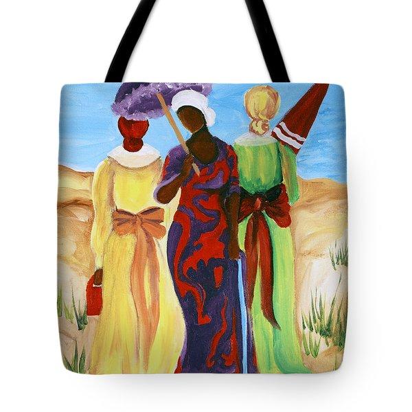 3 Ladies Tote Bag by Diane Britton Dunham
