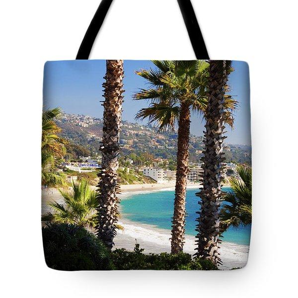 Laguna Beach California Coast Tote Bag
