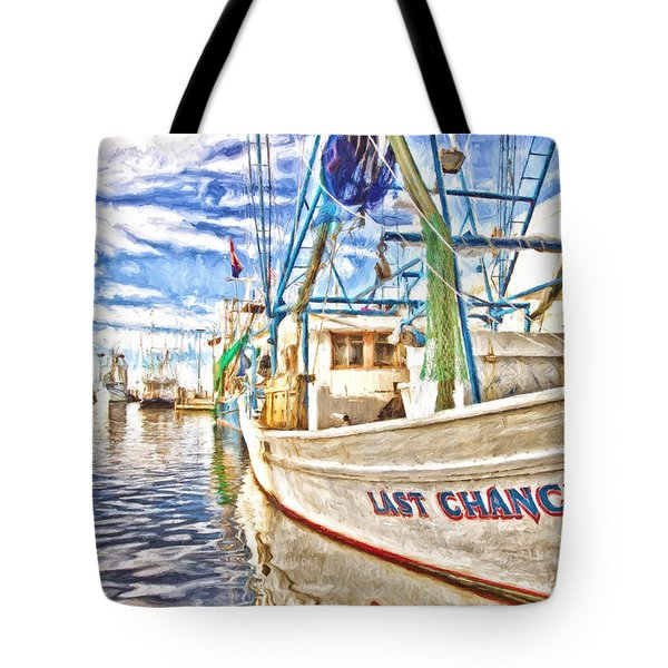 Last Chance Tote Bag by Scott Pellegrin