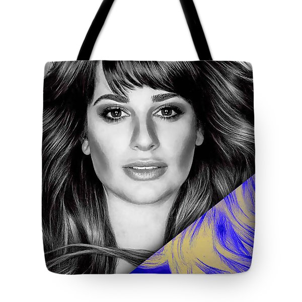 Lea Michele Collection Tote Bag by Marvin Blaine