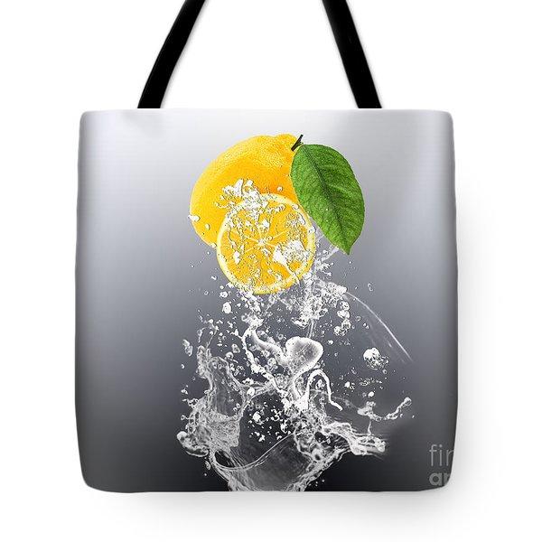 Lemon Splast Tote Bag by Marvin Blaine