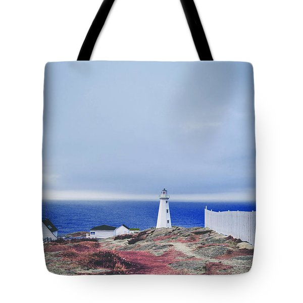 Tote Bag featuring the photograph Lighthouse by Artistic Panda