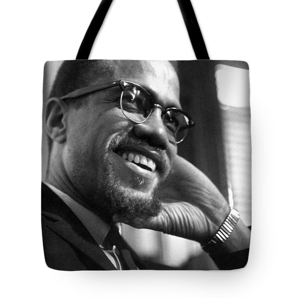 Malcolm X (1925-1965) Tote Bag by Granger