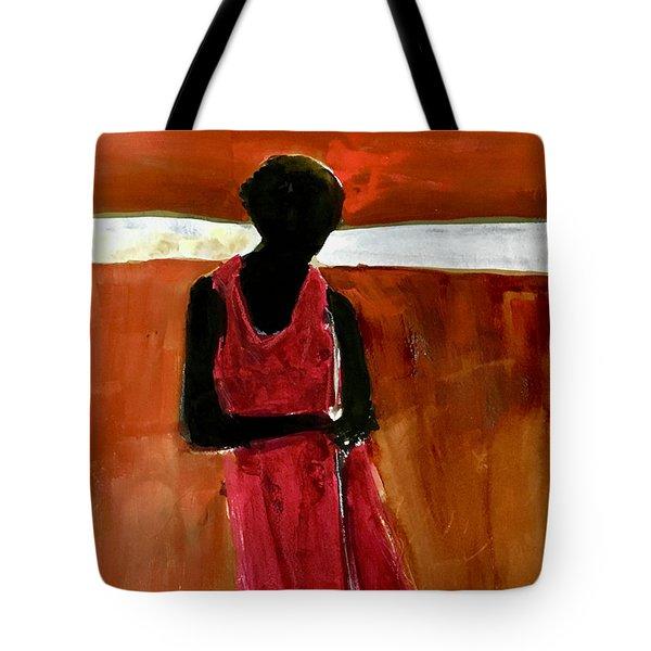 Masaai Boy Tote Bag