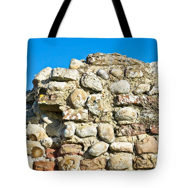 Medieval Wall Tote Bag