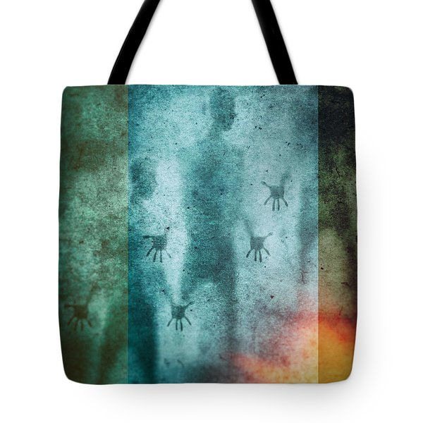 3 Men Tote Bag by James Bethanis