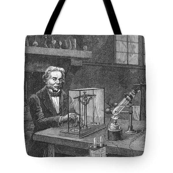 Michael Faraday (1791-1867) Tote Bag by Granger