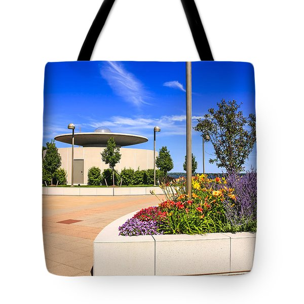 Monona Terrace Madison Tote Bag