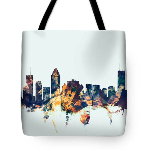 Montreal Canada Skyline Tote Bag