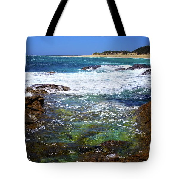 Mouth Of Margaret River Beach II Tote Bag