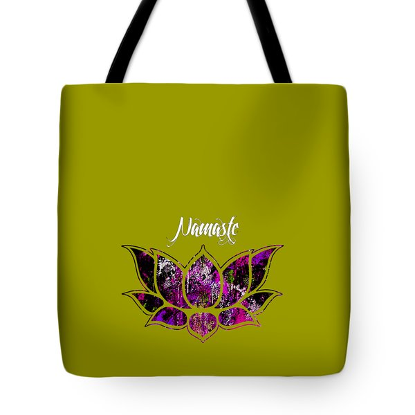 Namaste Tote Bag by Marvin Blaine
