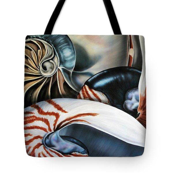 3 Nautilus Tote Bag