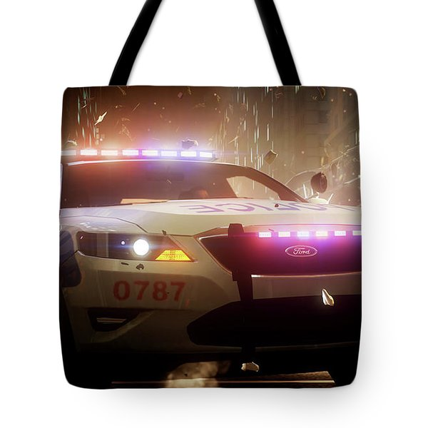 Need For Speed The Run Tote Bag