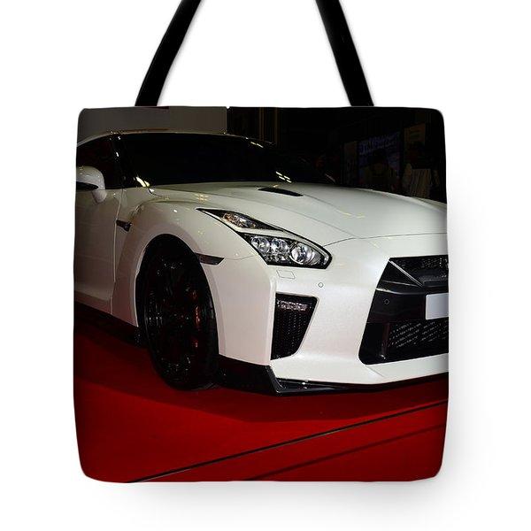 Nissan Gtr Tote Bag