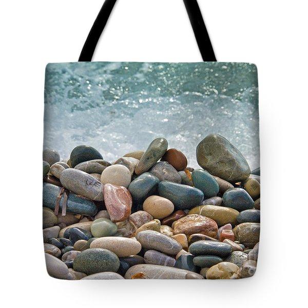 Ocean Stones Tote Bag