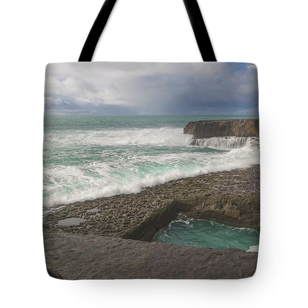 3 Of 35 The Worm Hole Water Behavior Sequence Tote Bag