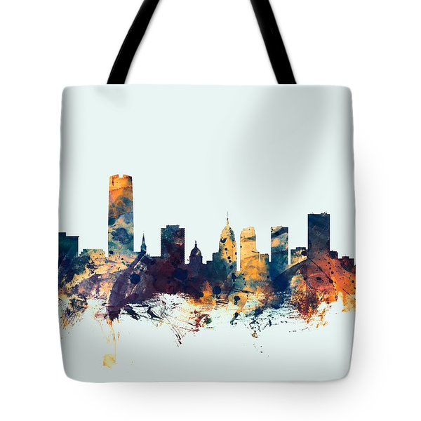 Oklahoma City Skyline Tote Bag