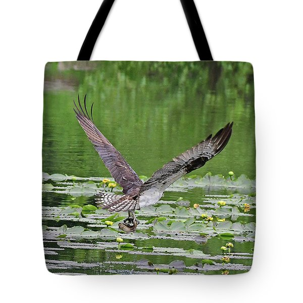 Osprey Fishing Tote Bag
