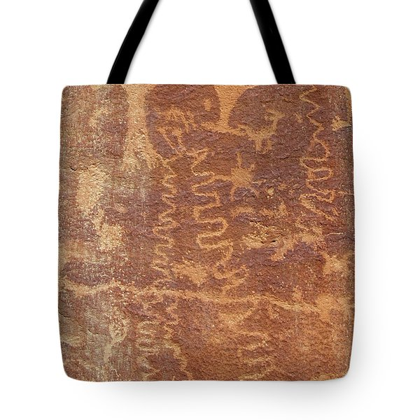 Petroglyph - Fremont Indian Tote Bag
