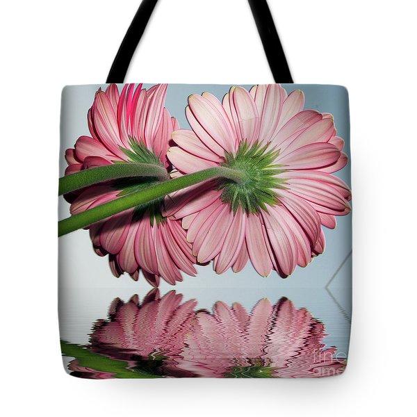 Pink Gerbers Tote Bag