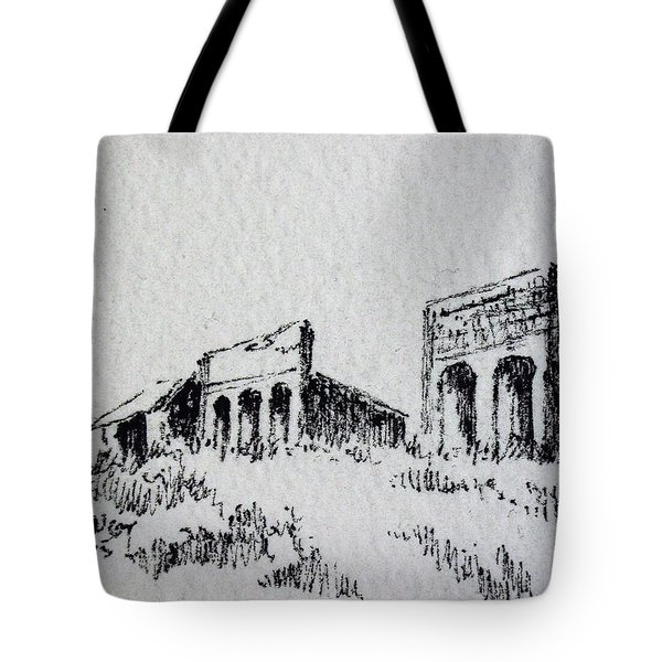 Pioneer Ghost Town Montana Tote Bag by Kevin Heaney