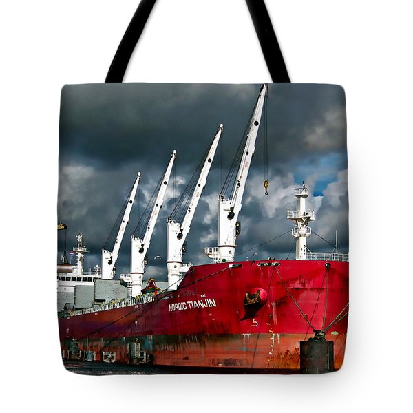 Port Of Amsterdam Tote Bag