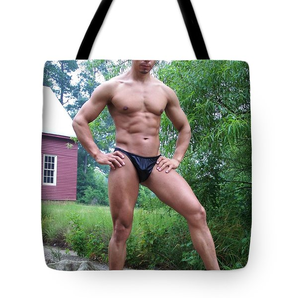 Posedown Tote Bag by Jake Hartz