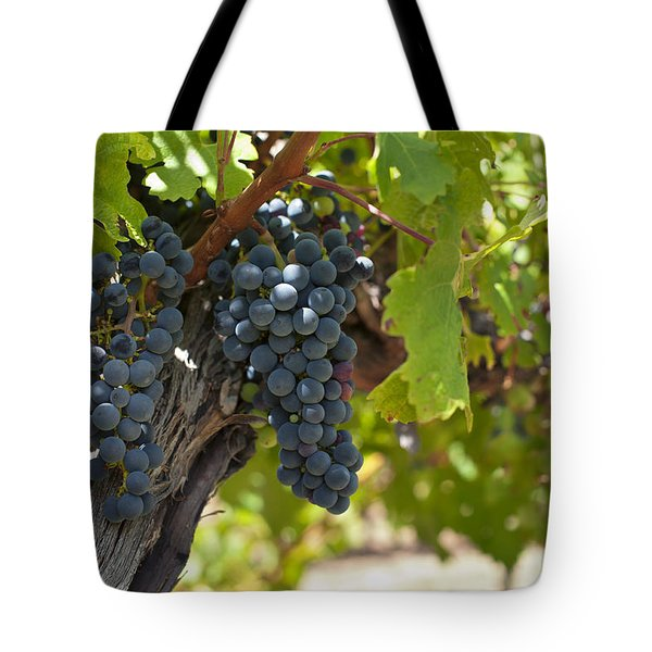 Tote Bag featuring the photograph Red Vines by Ulrich Schade