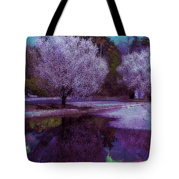 Tote Bag featuring the photograph Reflections by Donna Bentley