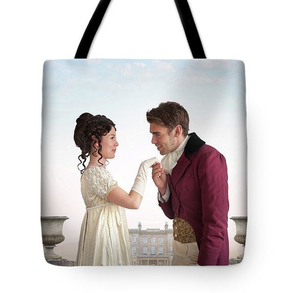 Regency Couple  Tote Bag