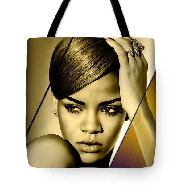 Rhianna Collection Tote Bag by Marvin Blaine