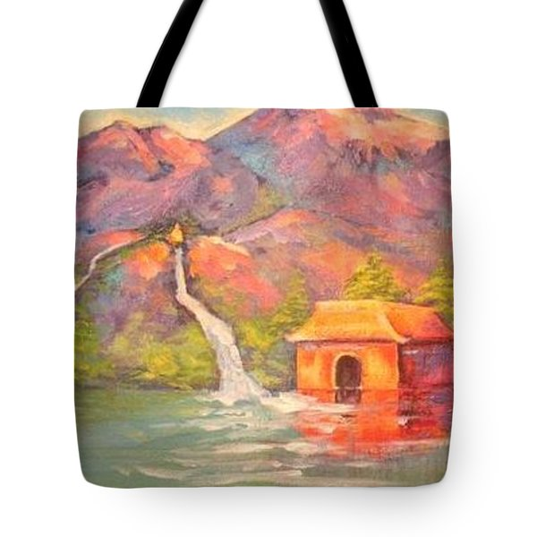 3 Rivers Temple Tote Bag