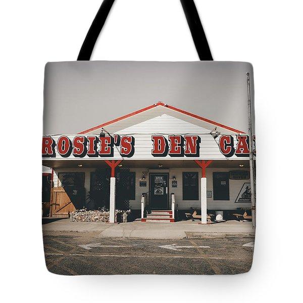 Rosies Den Cafe   Tote Bag