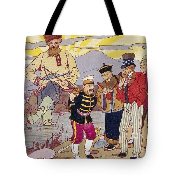 Russo-japanese War, C1905 Tote Bag