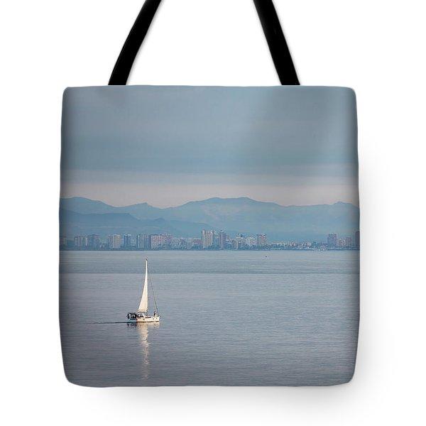Sailing To Shore Tote Bag