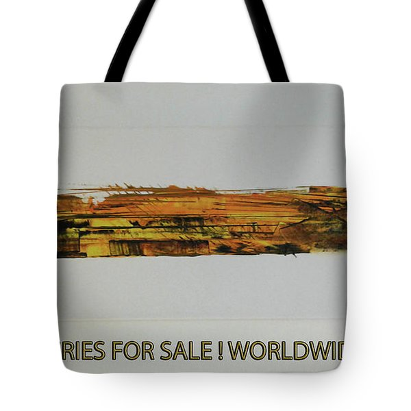 Series Abstract Worlds Only Originals For Sale Worldwide Shipping Tote Bag
