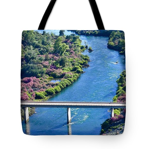 Shasta Dam Spillway Tote Bag