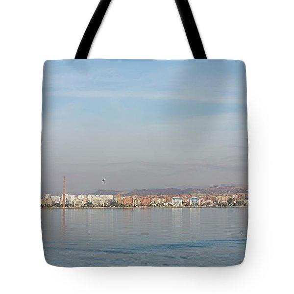 Shoreline Reflections Tote Bag