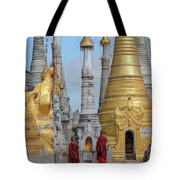 Shwe Indein Pagoda - Myanmar Tote Bag