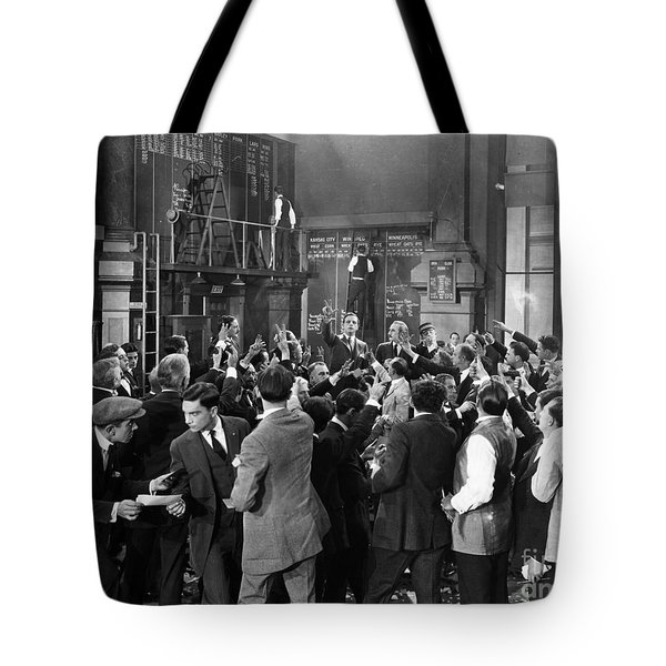 Silent Film Still: Crowds Tote Bag by Granger