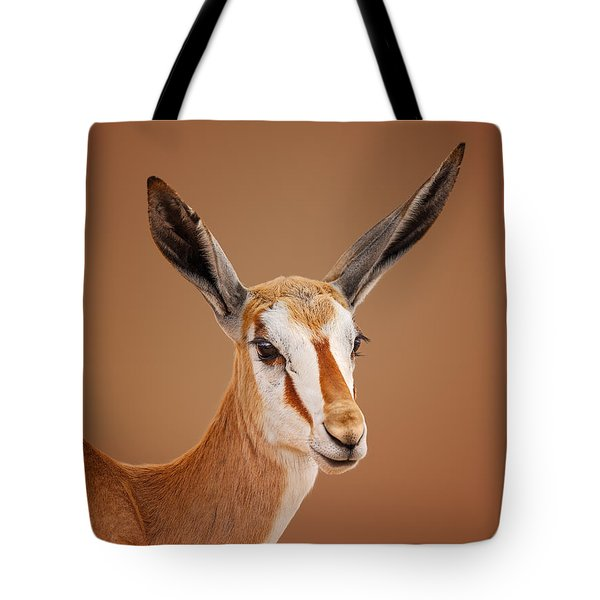 Springbok Portrait Tote Bag